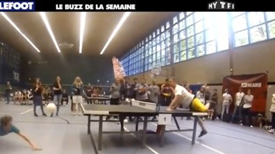 MyTELEFOOT - Le Buzz de la Semaine : le tennis de table... ballon !