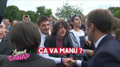 """""""Ça va Manu ?"""" : le rebelle du jour face à Emmanuel Macron"""