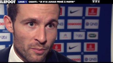 """PSG - Cabaye : """"Je n'ai jamais pensé à partir"""""""