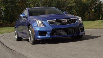 Cadillac ATS-V 2016 : présentation officielle en vidéo