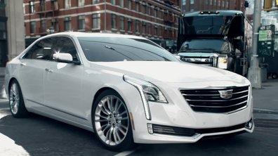 Cadillac CT6 2016 : présentation officielle