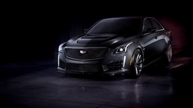Cadillac CTS-V 2016 : présentation officielle en vidéo
