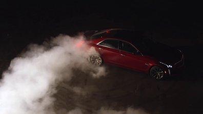 Un teaser tout en drift pour la nouvelle Cadillac CTS-V !