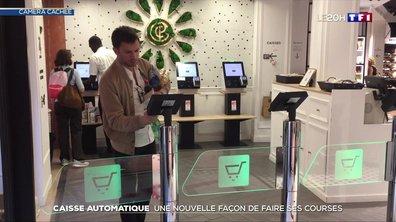 Caisse automatique : une nouvelle façon de faire ses courses