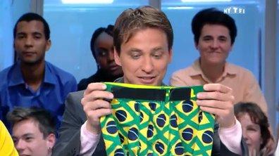 MyTELEFOOT - Les objets insolites de la Coupe du Monde : l'équipement pour Copacabana !