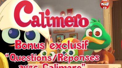 Bonus : questions/ réponses avec Calimero