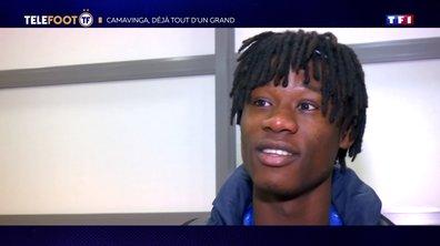 [EXCLU Téléfoot 17/11] - Eduardo Camavinga affole l'Europe entière
