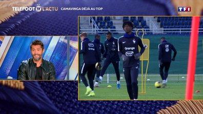 Equipe de France : Camavinga déjà au top