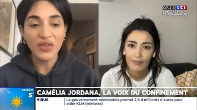 Camélia Jordana, la voix du confinement