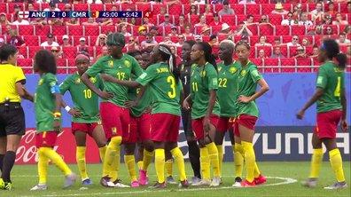 Angleterre - Cameroun (2 - 0) : Les Camerounaises arrêtent le jeu pendant plusieurs minutes !