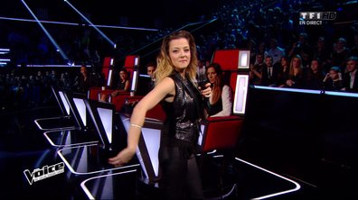 The Voice 4 - Team Pagny - Camille Lellouche, actrice et chanteuse !