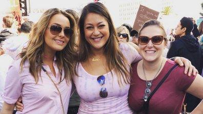 Grey's Anatomy : Ellen Pompeo, Camille Luddington... les actrices présentes à la Women's March !