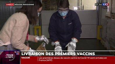 Campagne de vaccination en France : les premières doses sont arrivées