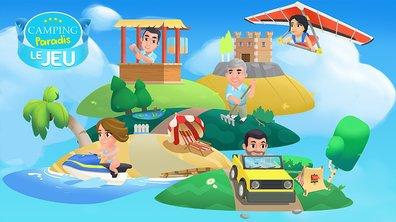 Retrouvez Tom et tous ses amis dans le jeu Camping Paradis