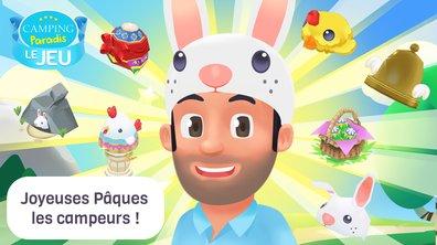 Pour Pâques, le jeu Camping Paradis inaugure sa toute nouvelle boutique !