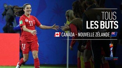 Canada - Nouvelle-Zélande : Voir tous les buts du match en vidéo