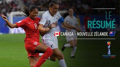 Canada - Nouvelle-Zélande : Voir le résumé du match en vidéo