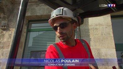 Canicule à Bordeaux : des conditions pénibles pour les travailleurs en extérieur