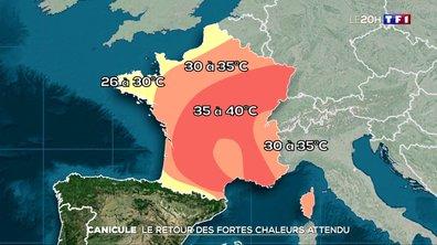 Canicule : le retour des fortes chaleurs attendu