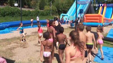 Canicule : un centre de loisirs aquatiques pour rafraîchir les enfants