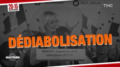 Capsule temps : Marine Le Pen et la dédiabolisation
