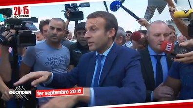 """Capsule temps : quand Emmanuel Macron voulait écouter """"la vraie vie des vrais gens"""""""