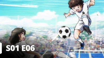 Captain Tsubasa - S01 E06 - Coup d'envoi ! Nankatsu contre Shutetsu