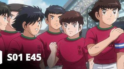 Captain Tsubasa - S01 E45 - Des larmes à l'aéroport