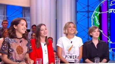 """Invitées : Lyna Khoudri, Shirine Boutella, Amira Hilda Douaouda et Zahra Doumandji pour """"Papicha"""""""