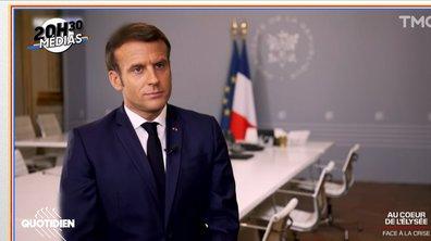 20h30 Médias : Emmanuel Macron a-t-il bien fait d'ouvrir l'Elysée aux caméras de BFMTV ?