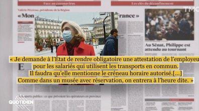 Faudra-t-il une attestation employeur pour prendre le métro à Paris dès le 11 mai ?