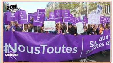 """20h Médias : qui est """"Nous Toutes"""", le collectif à l'origine de la marche contre les violences faites aux femmes ?"""