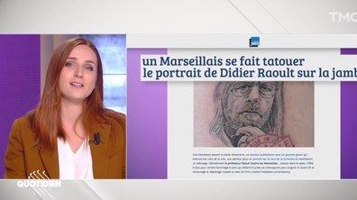 La revue de presse d'Alison Wheeler : le Festival de Cannes en réalité virtuelle et un tatouage Didier Raoult