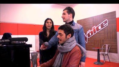 The Voice : mode Michael Jackson pour Olympe, Sarah et Gérôme Gallo