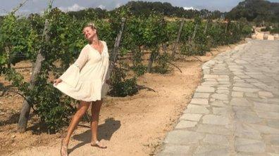 Sharon Case, ses vacances de rêve en Sardaigne