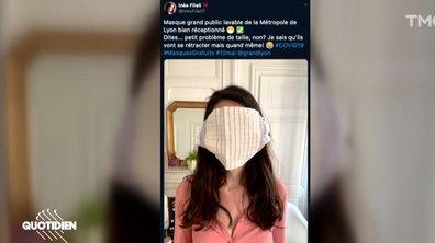 Les masques distribués à Lyon ne sont pas aussi nuls qu'ils en ont l'air