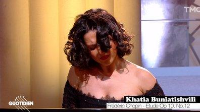 La Culture chez vous : Khatia Buniatishvili joue Chopin, en live pour Quotidien