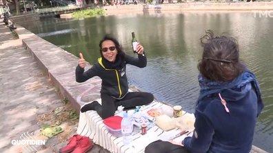 L'évacuation du Canal Saint-Martin et l'interdiction de l'alcool ont-elles découragé les Parisiens ?
