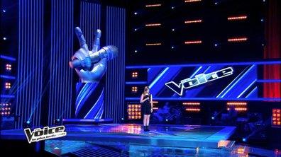 """The Voice : Tous les coachs se retournent sur Louane et """"Un homme heureux"""" de William Sheller"""