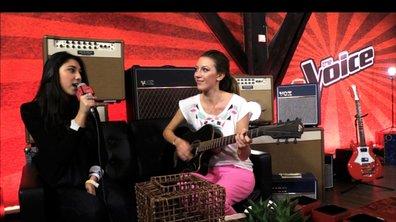 The Voice : pour son showcase, Sarah se la joue comme Jagger
