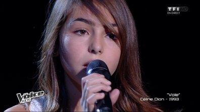Carla fait fondre le public avec « Vole » de Céline Dion