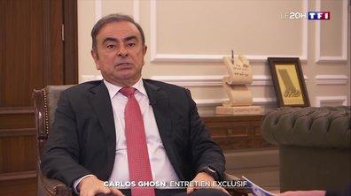 DOCUMENT EXCLUSIF : Carlos Ghosn livre sa version des faits à TF1