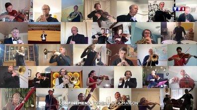 Carmen joué par les musiciens de l'opéra de Nice … mais chacun chez eux