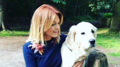Caroline Receveur, malheureuse sans son chien Island