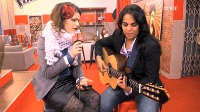 The Voice: avant les battles, le duo Caroline Rose /Josephina a chanté Michael!