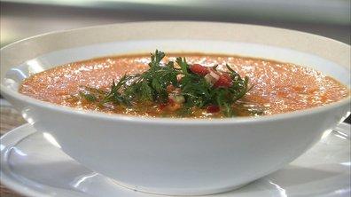 Gaspacho de carottes nouvelles