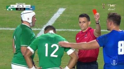 Irlande - Samoa (21 - 5) : Voir le carton rouge d'Aki en vidéo