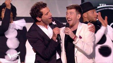 Finale : Casanova : son duo avec Amel Bent, sa chanson avec Mika… découvrez ses prestations !