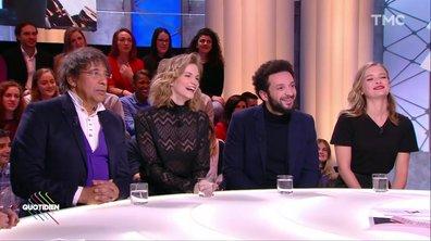 Invités : William Lebghil, Margot Bancilhon et Camille Razat font « Ami-Ami » avec Yann Barthès