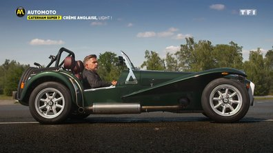 Caterham Super 7 : crème anglaise, light !